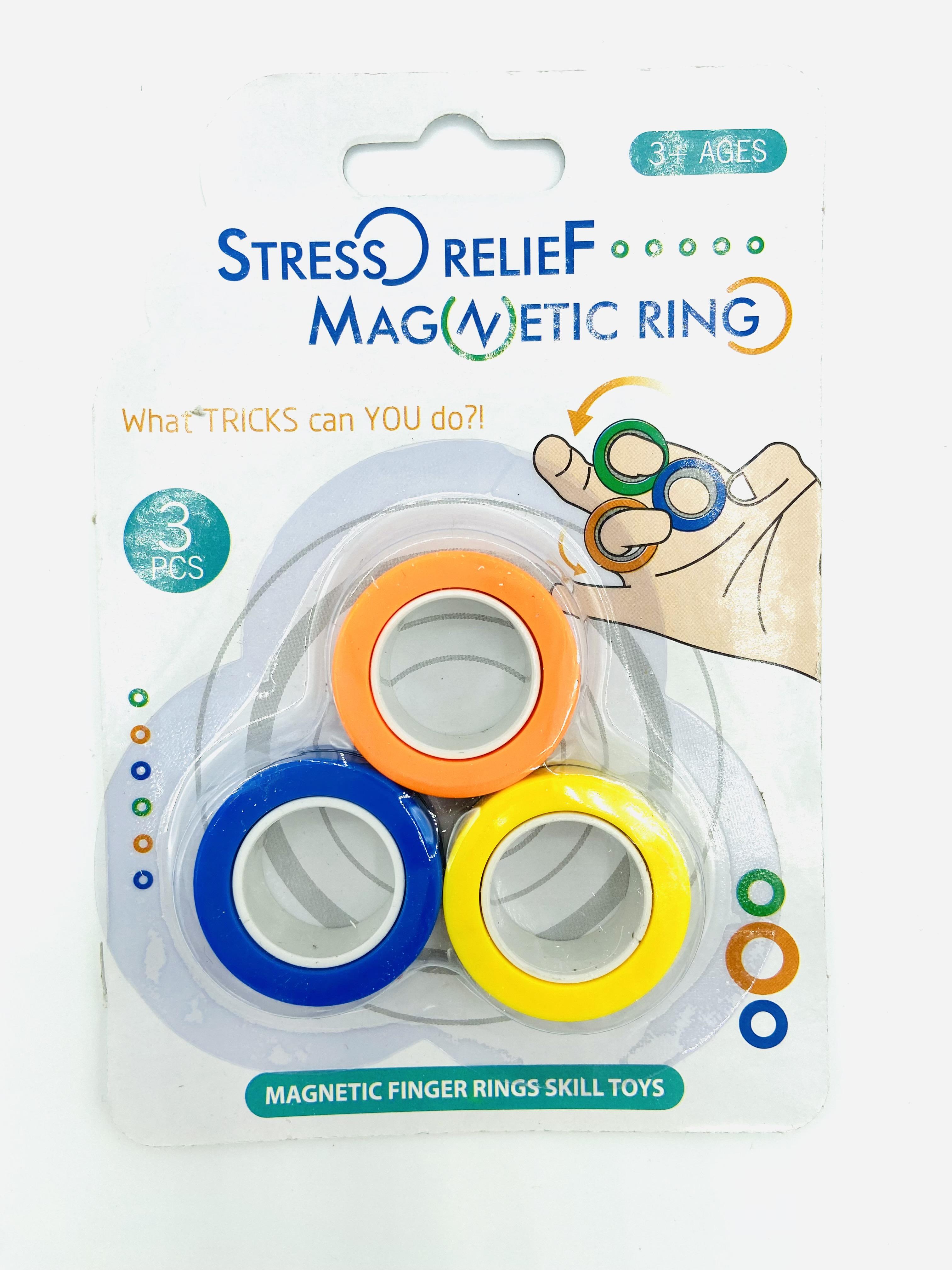 Magnetische Ringe bunt
