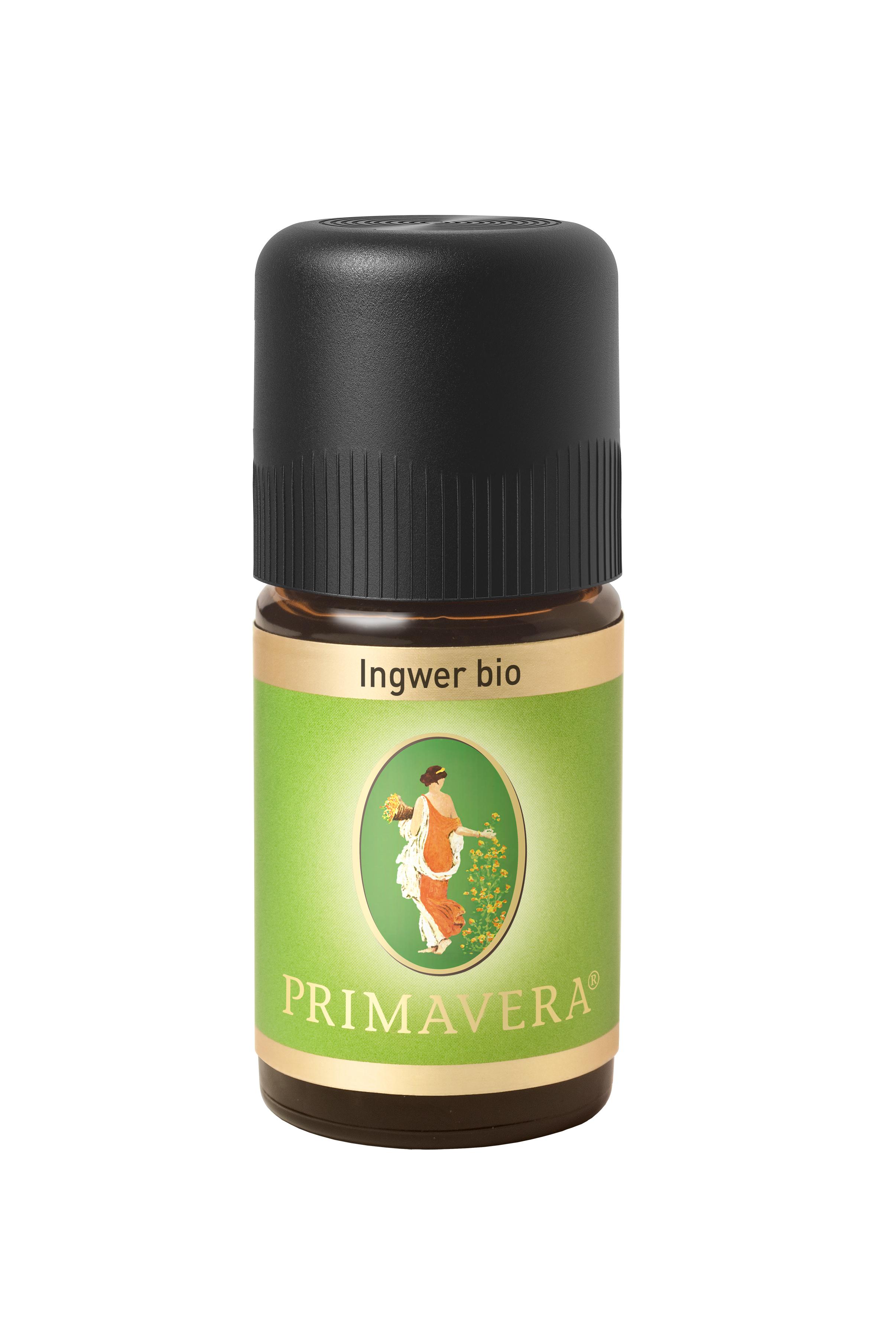PRIMAVERA Ingwer bio 5 ml