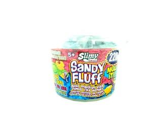 Sandy Fluff Bucket in kleinem Eimer mit 2 Förmchen