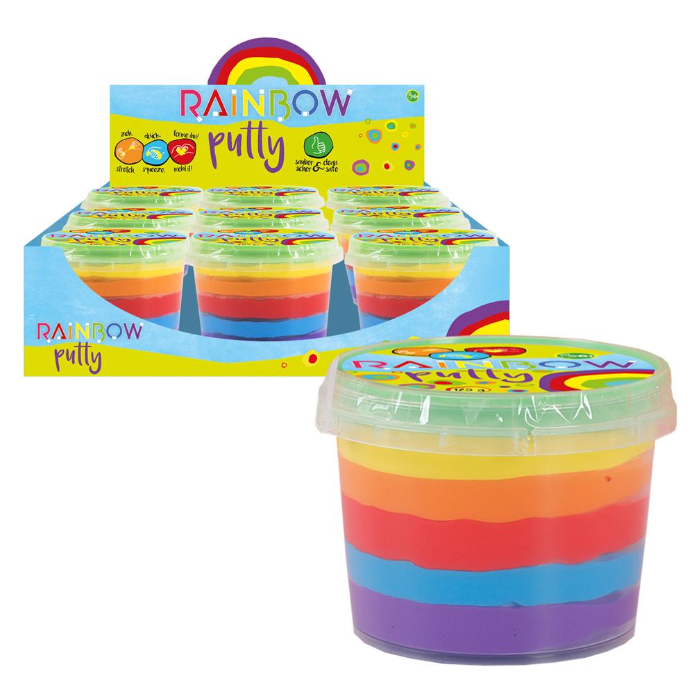 Rainbow Putty Knete