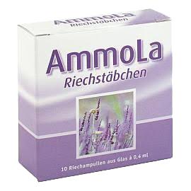 AmmoLa Riechstäbchen 10 Riechampullen aus Glas á 0,4 ml