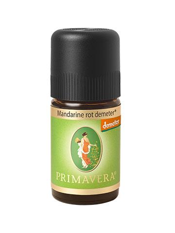 PRIMAVERA Mandarine rot demeter 5 ml