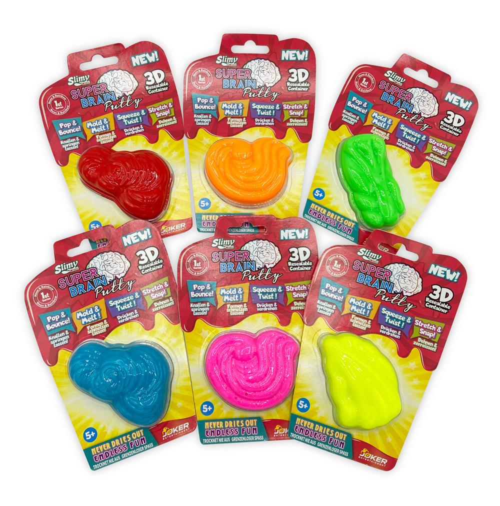 Super Brain Putty -verschiedene Farben-