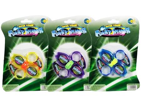 Funky Spinner mit Licht
