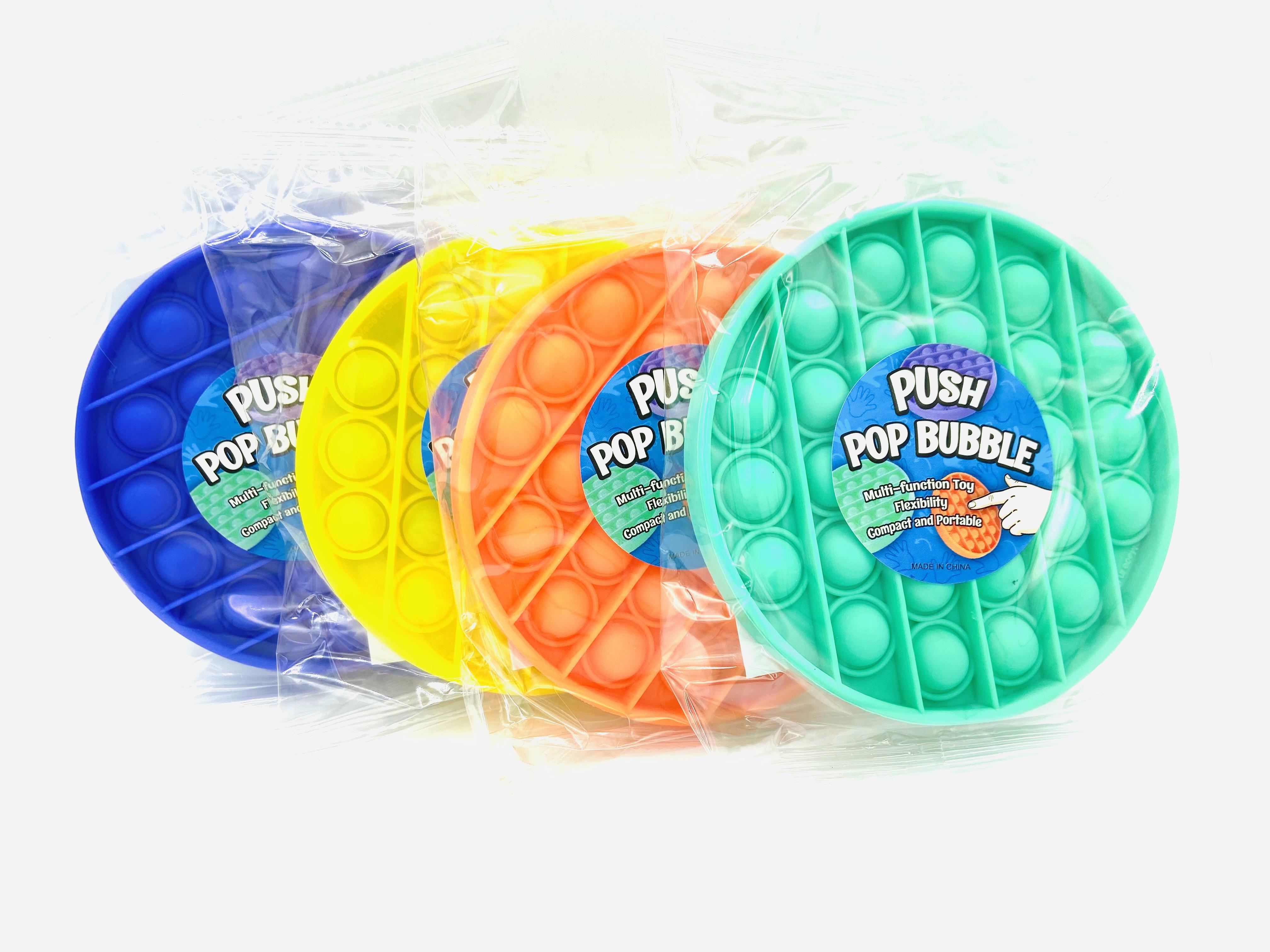 PUSH POP BUBBLE  -rund-