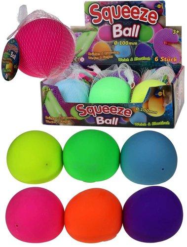 Squeeze Ball  ohne Noppen Groß 10cm