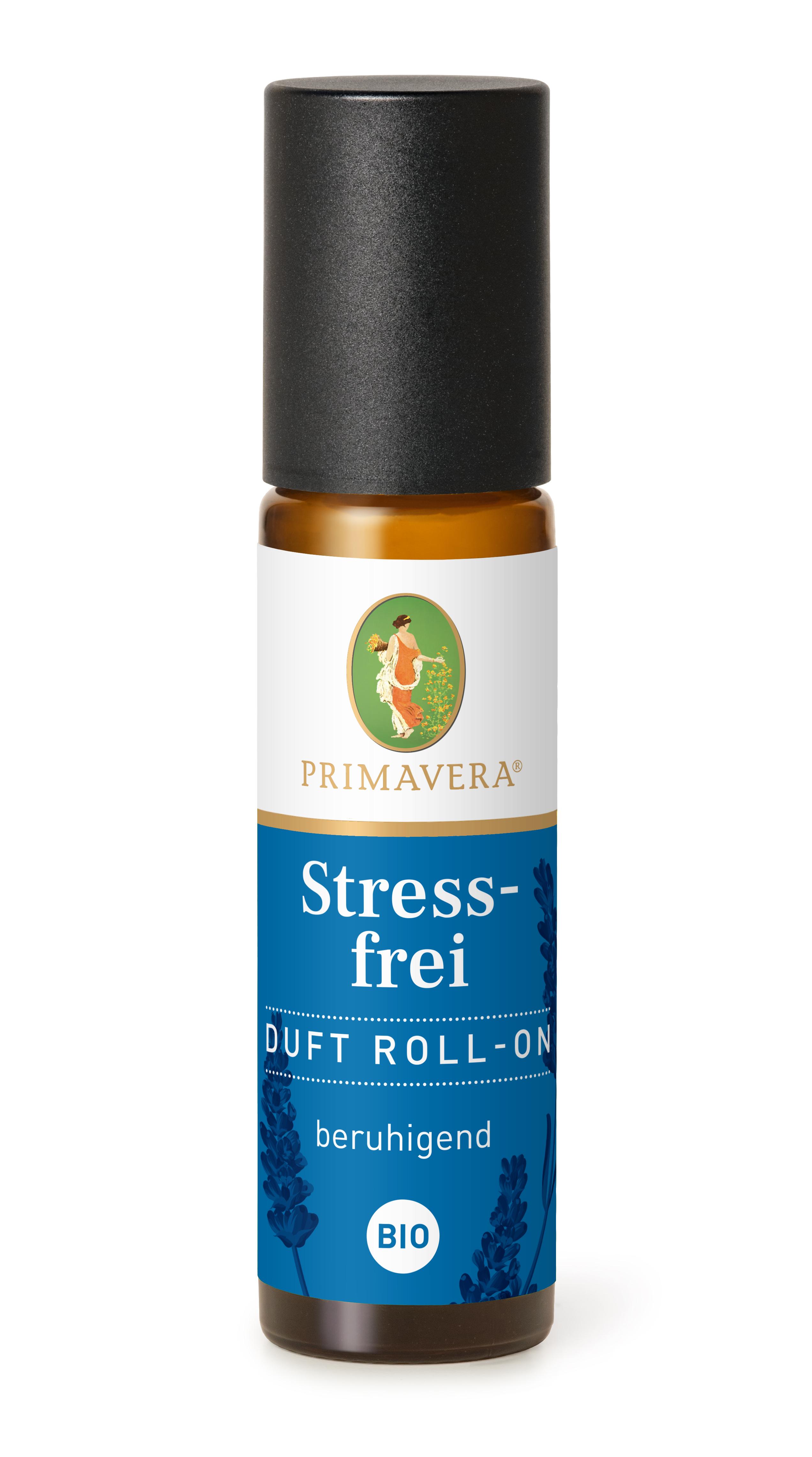 PRIMAVERA Stressfrei Duft Roll-On bio, 10 ml