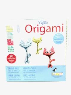 """""""Funny Origami"""" 20 Blatt 15x15 cm"""