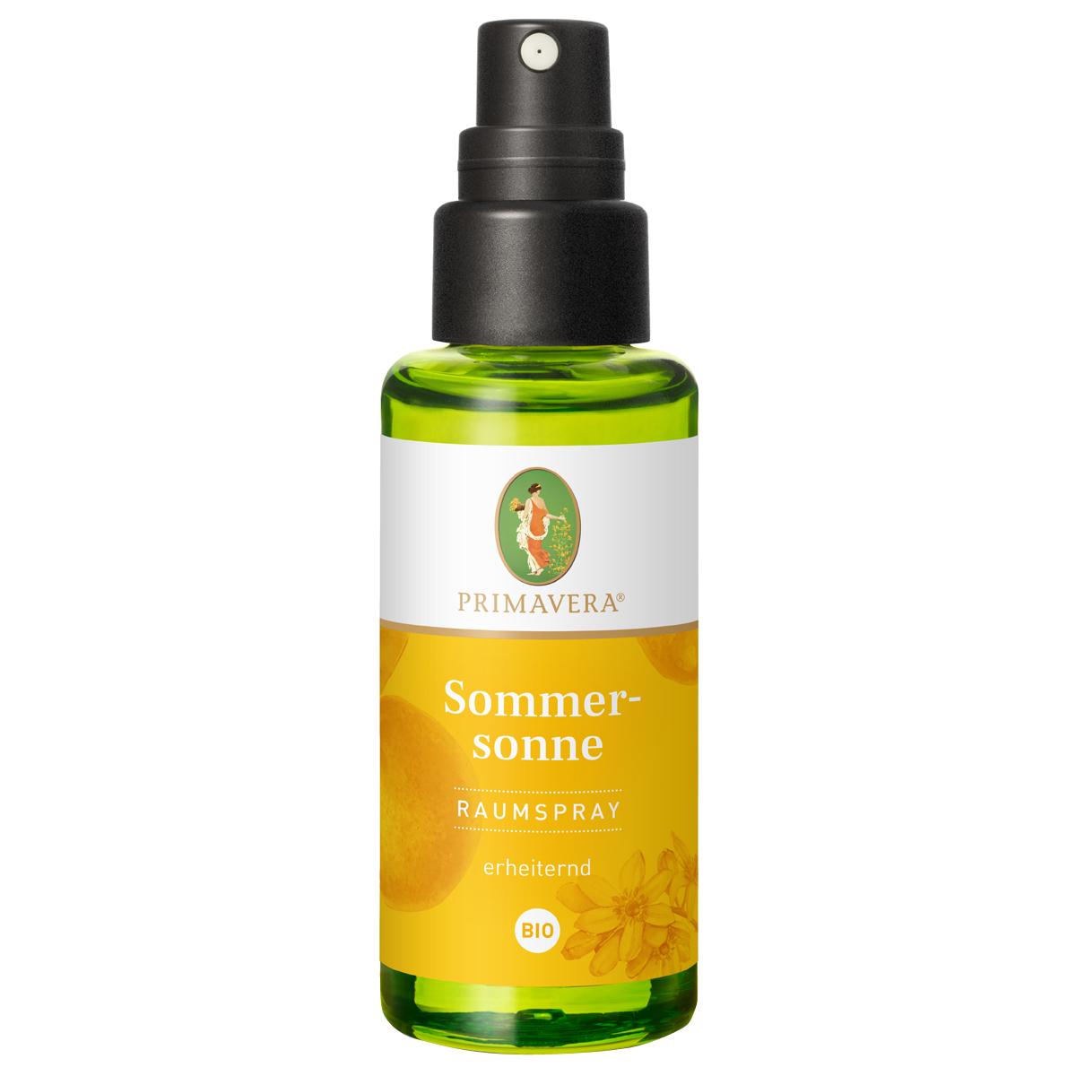 PRIMAVERA Sommersonne Raumspray bio, 50 ml