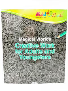 Kiddo Books Malblock : Malblock mit kreativen Mustern