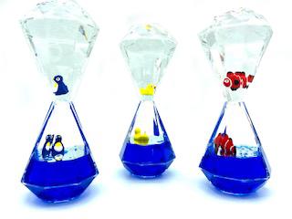 Liquid Timer mit Tierchen