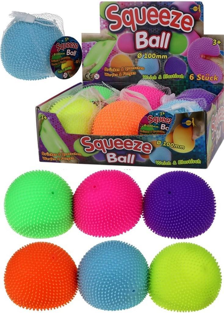 Squeeze Ball mit Noppen groß 10cm