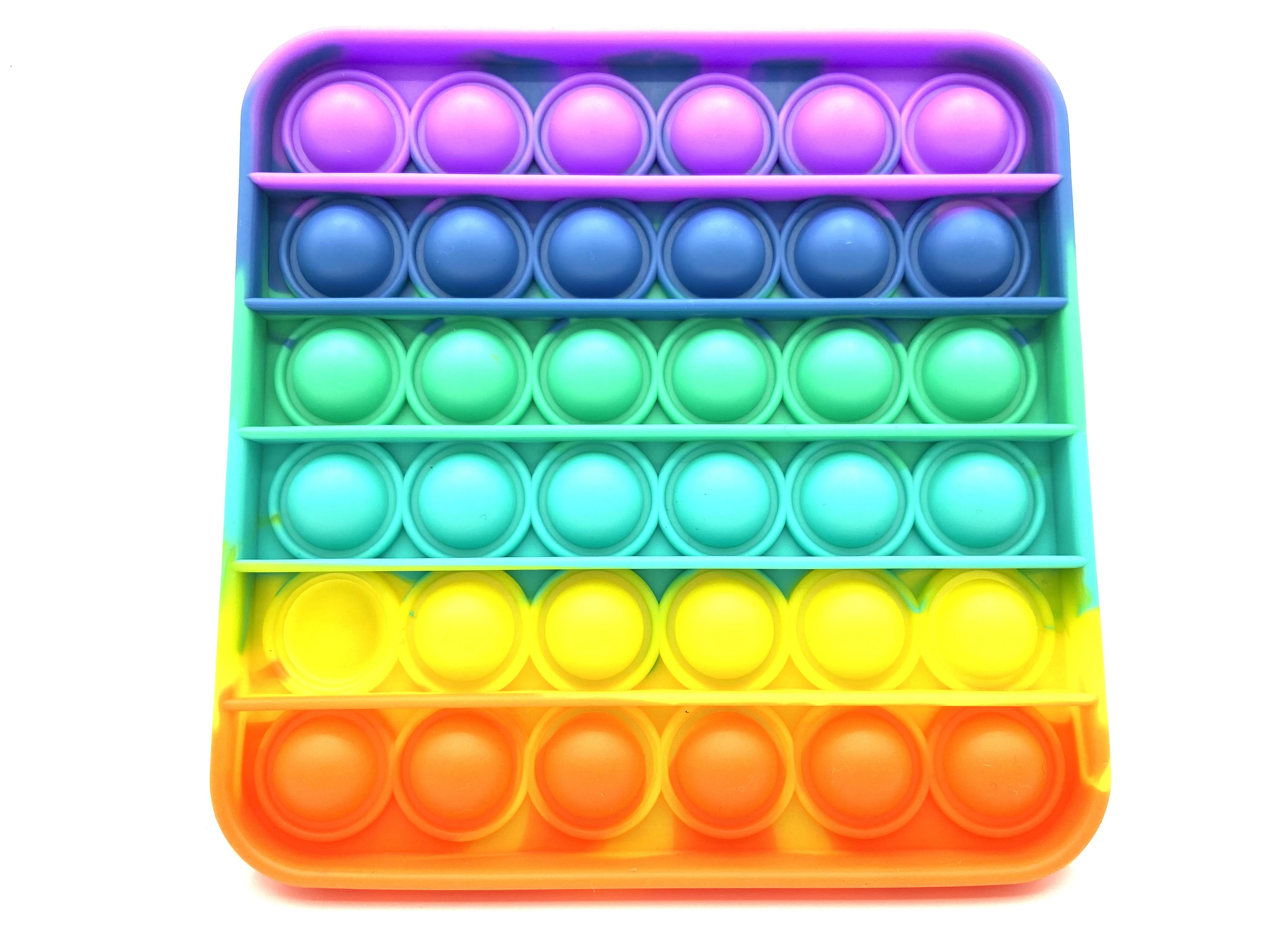 PUSH POP BUBBLE  -bunt- verschiedene Formen